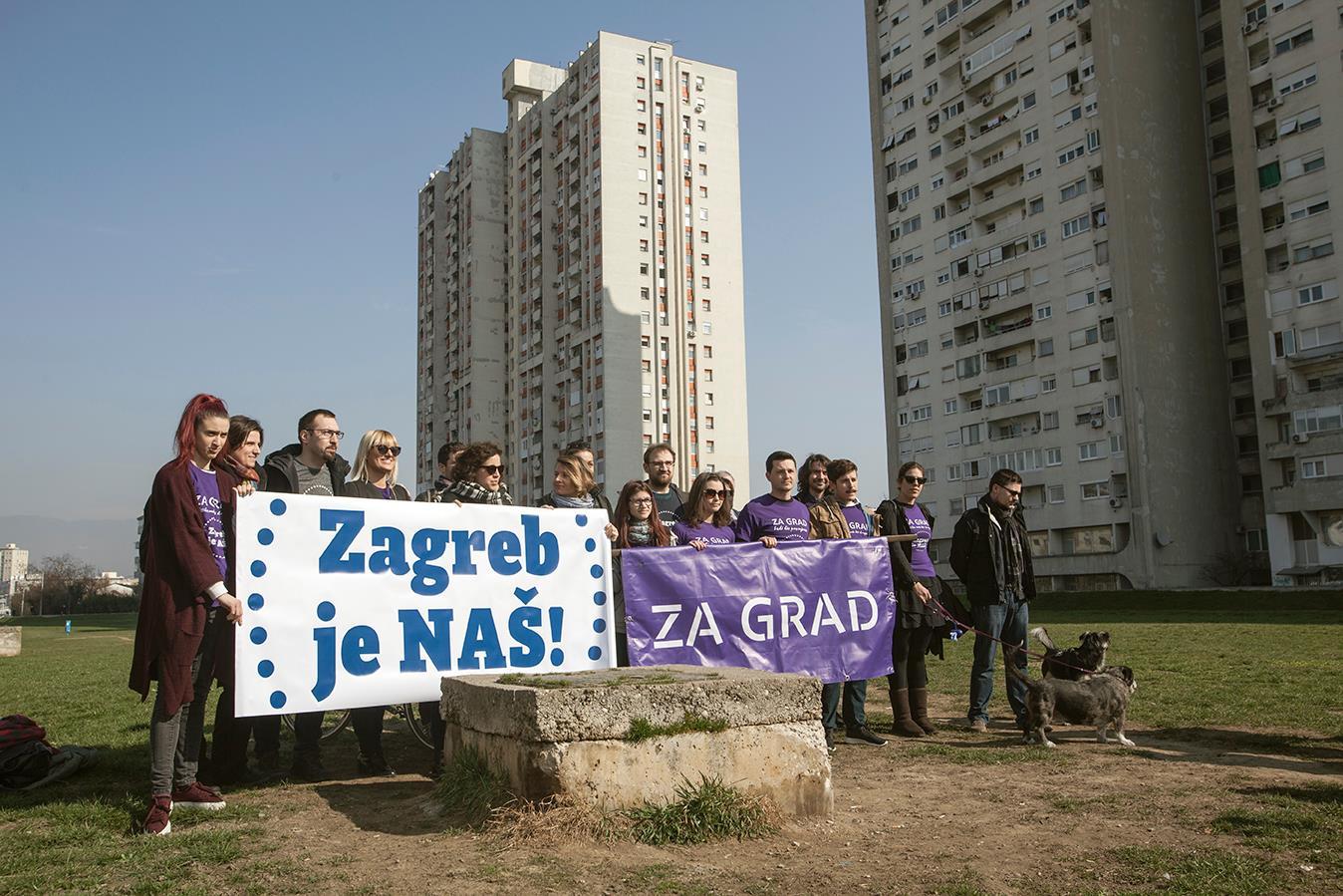 """Stranka ZA GRAD pridružuje se platformi """"Zagreb je NAŠ"""" za lokalne izbore u Zagrebu"""