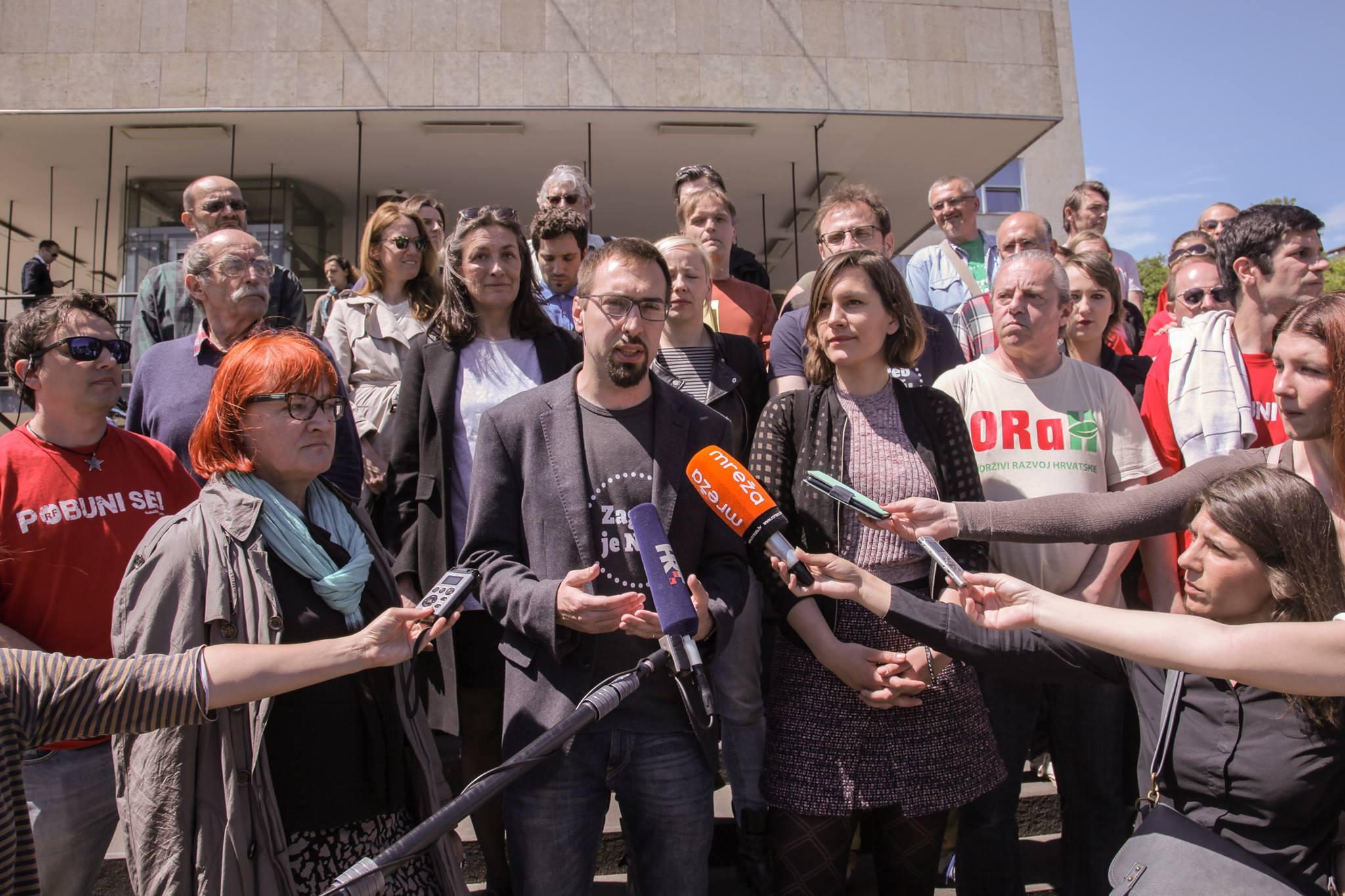 Predali smo zajedničku listu za Gradsku skupštinu koalicije Zagreb je naš! – Nova ljevica – ORaH – Radnička fronta – Za grad i prikupili dovoljan broj potpisa za kandidaturu za gradonačelnika
