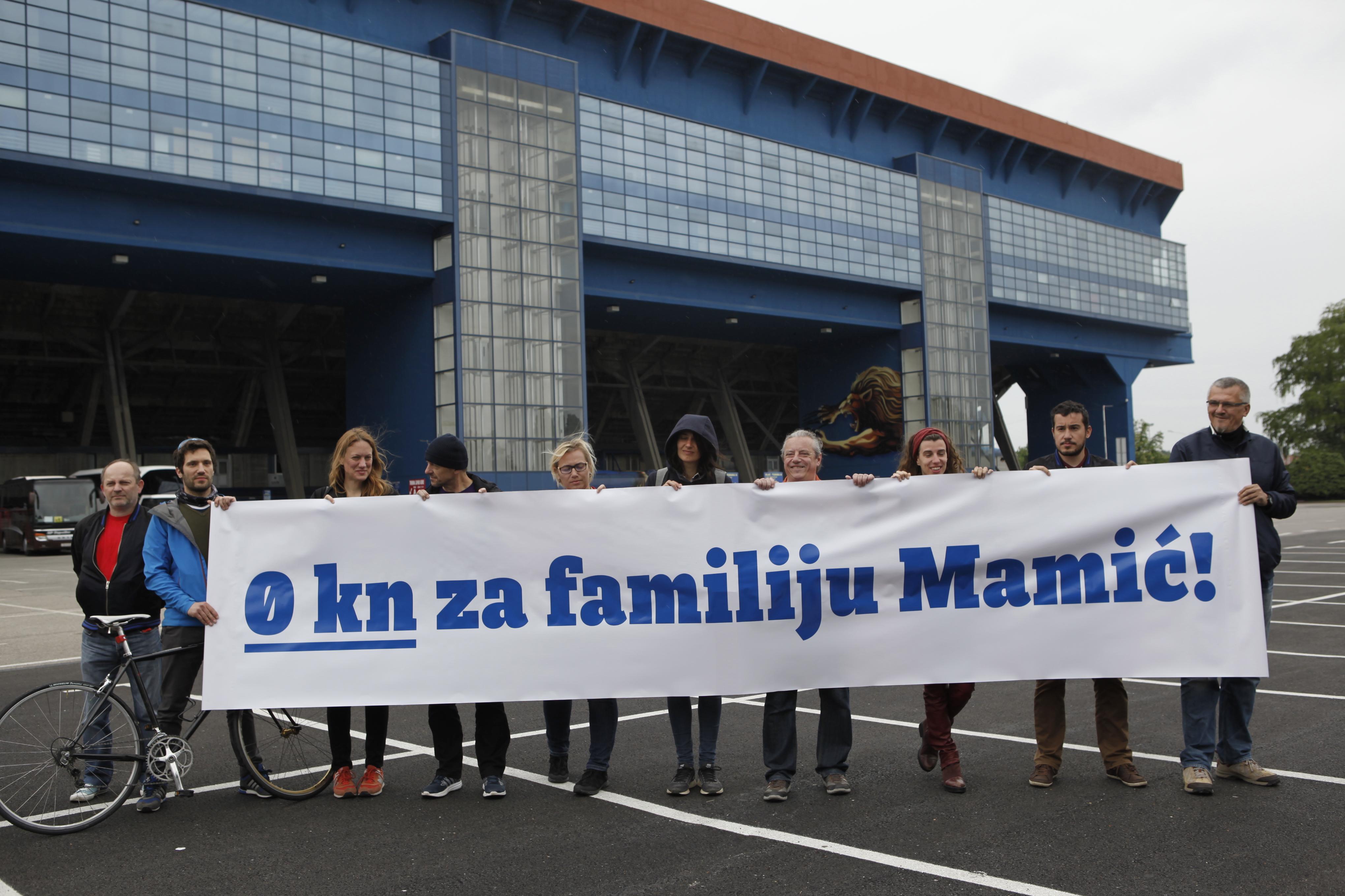 Ne privatizaciji Dinama – prijedlog zaključka oporbenih klubova