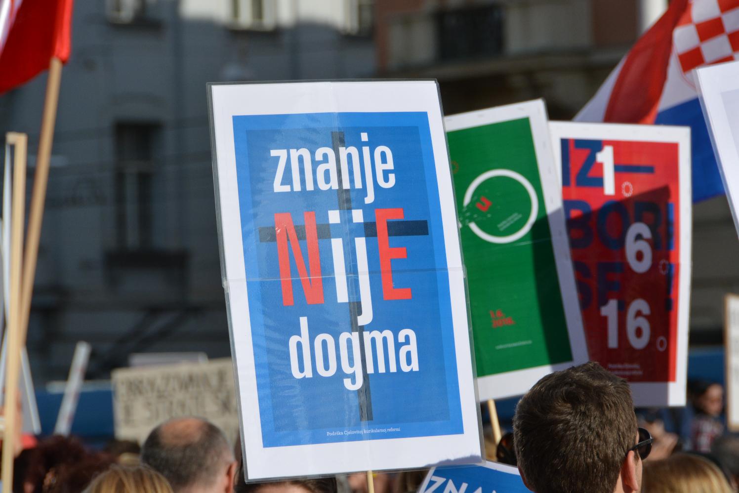 Platforma Zagreb je NAŠ! pridružuje se današnjem prosvjedu za nastavak obrazovne reforme