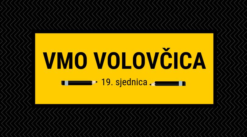 Sjednica VMO Volovčica 27. studenog 2018.