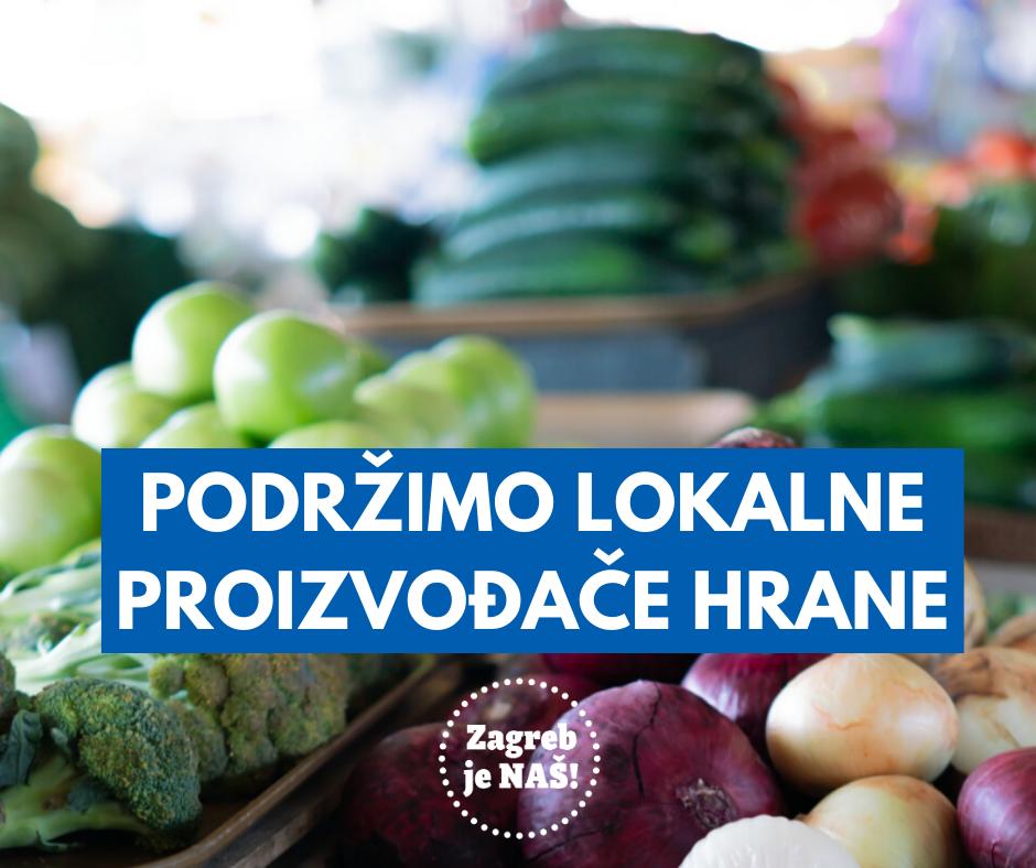 Podržimo lokalne proizvođače hrane