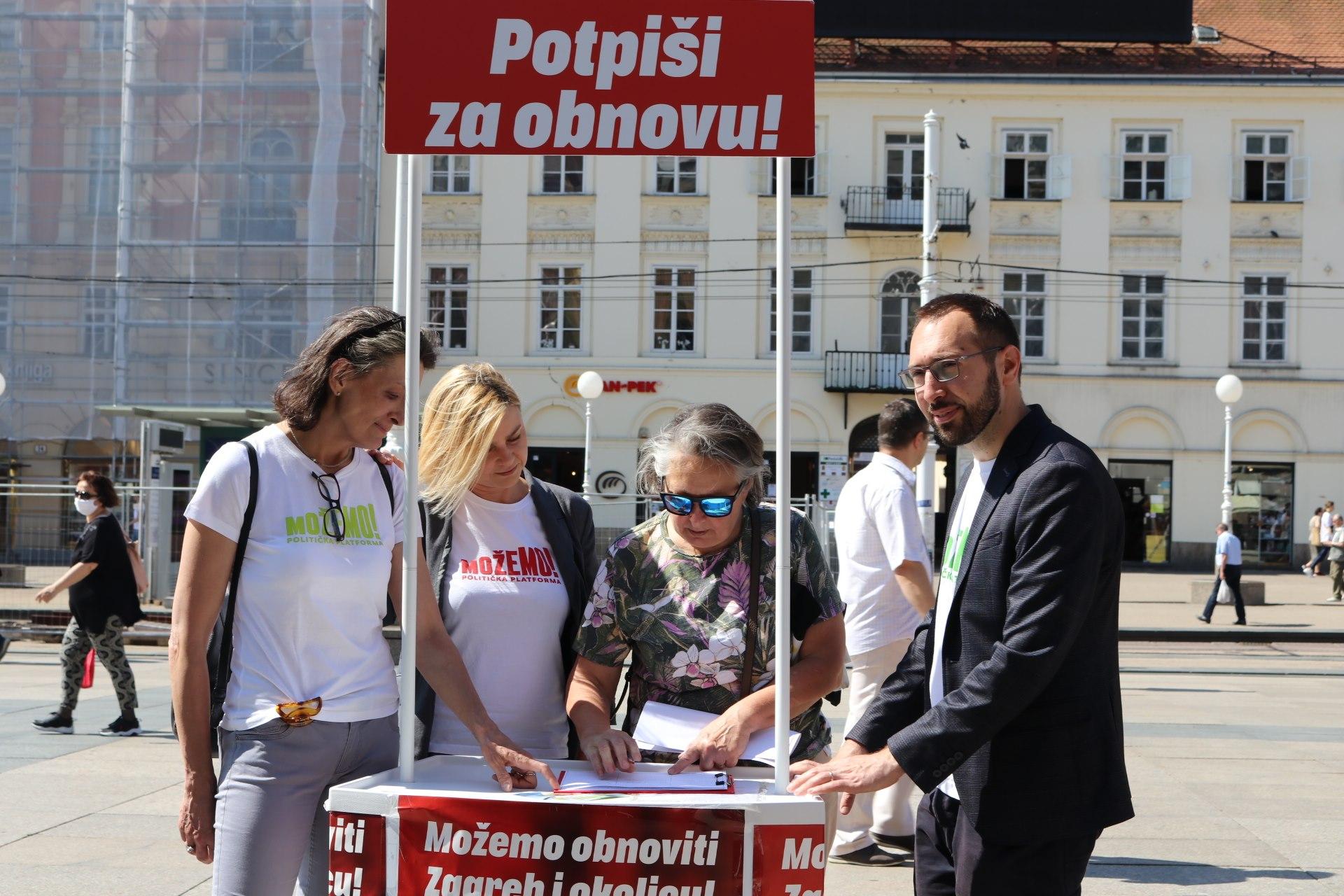 Prikupljeno 15 tisuća potpisa – peticija ide dalje