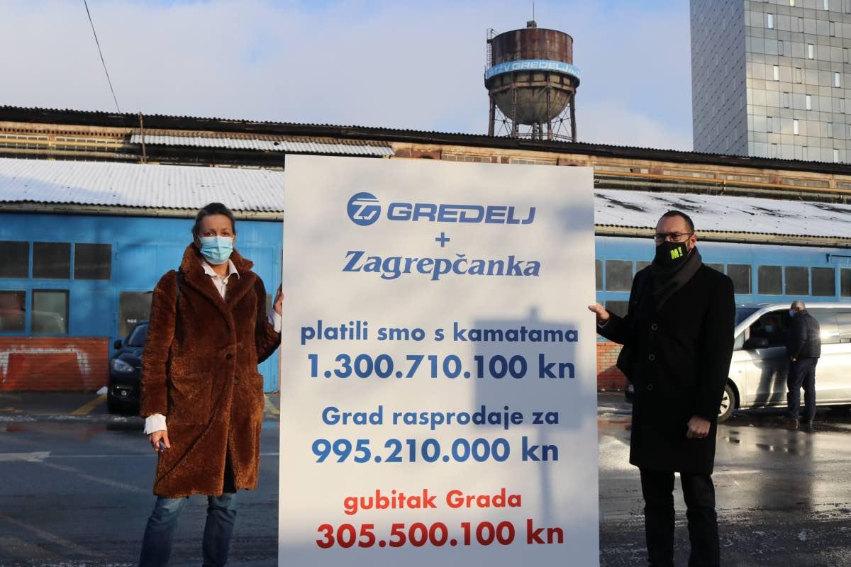 Tomašević: Gredelj i Zagrepčanku treba revitalizirati, a ne prodavati