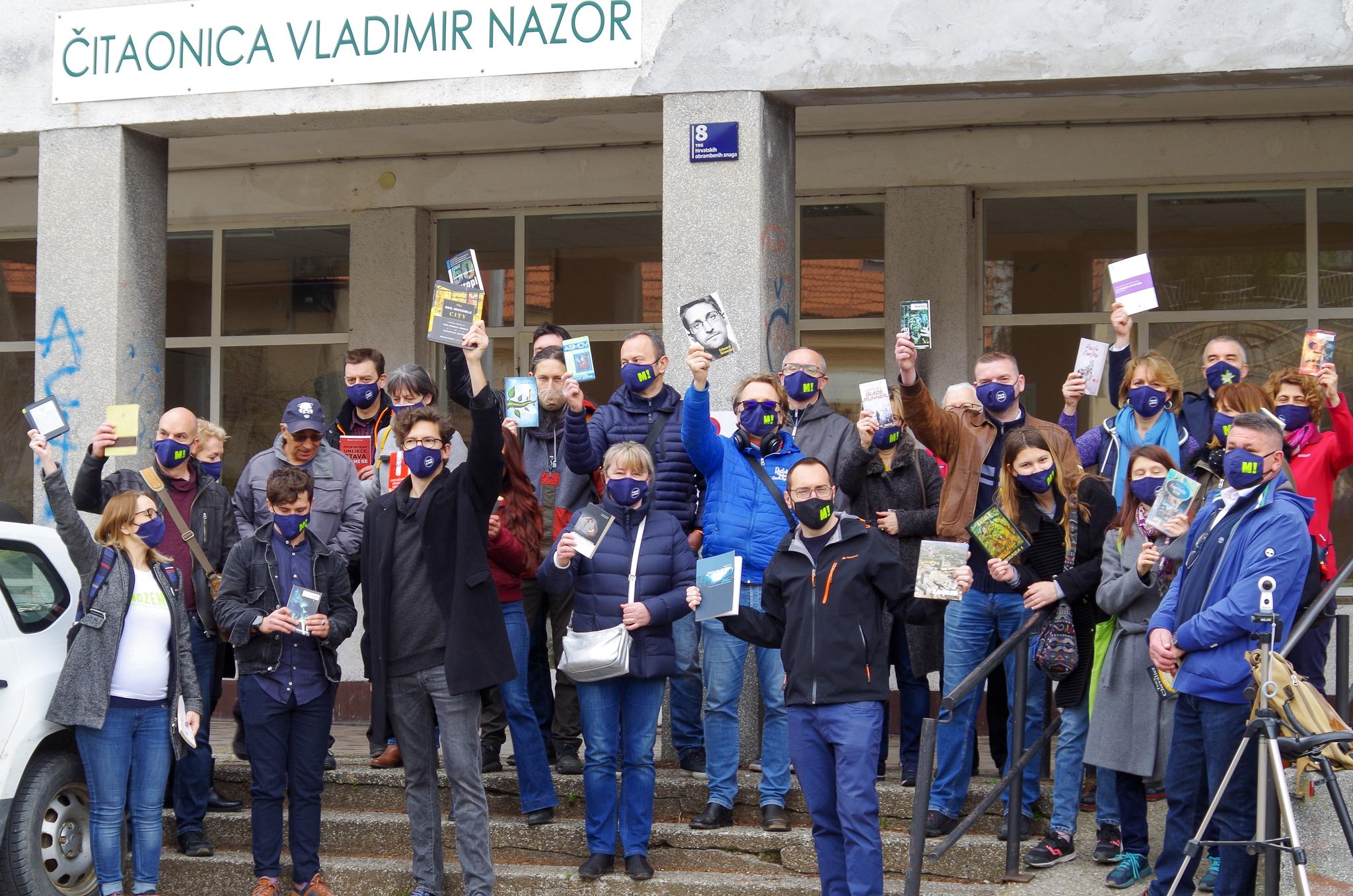 Kvartovska šetnja: Črnomerec – podigni knjigu za kulturu u Kustošiji!