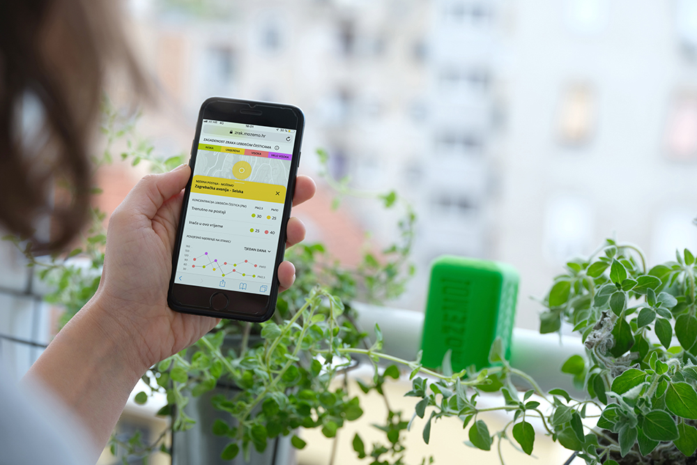 """Predstavili smo """"Otvoreni zrak"""" – web aplikaciju za informiranje građana o kvaliteti zraka!"""